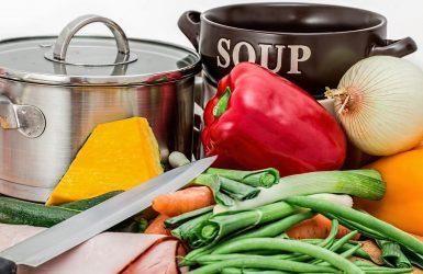Vegetables Pot Cooking Ingredients Preparation